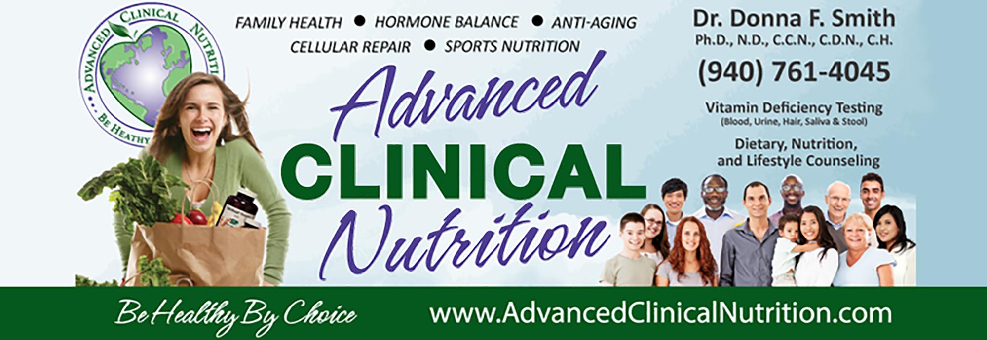 Advanced Clinical Nutrition Banner